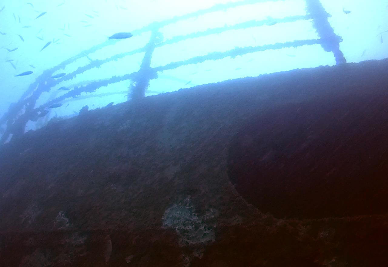 Diving the Klet Kaew wreck in Phi Phi – Southern Andaman