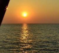 Sunset diving aboard the Scuba Explorer liveaboard